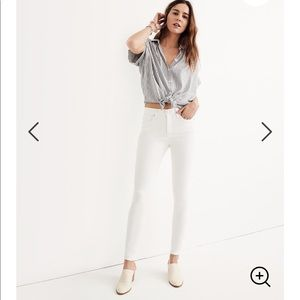 NEW • Madewell • 9 Inch High Rise Skinny Jeans